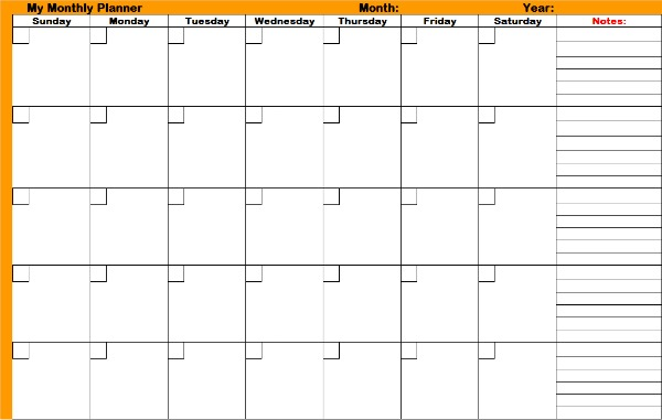 Utilize Monthly Planners And Don\u0027t Miss Those Important Dates - daily monthly planners