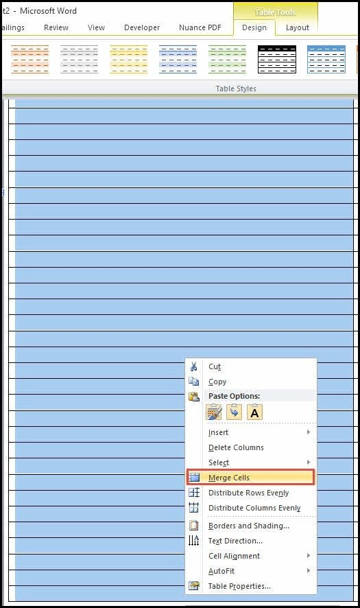 Create Cornell Notes Template in Word Productivity Portfolio - Sample Cornell Note