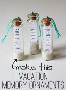 Honeymoon Memories to Save - Vacation Memory Ornament Souvenirs