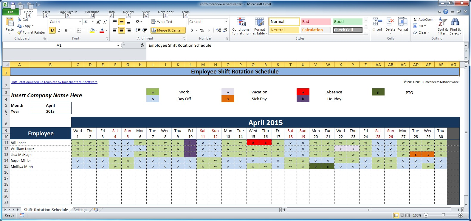 How Do I Create A Google Calendar Hours Google Free Employee And Shift Schedule Templates