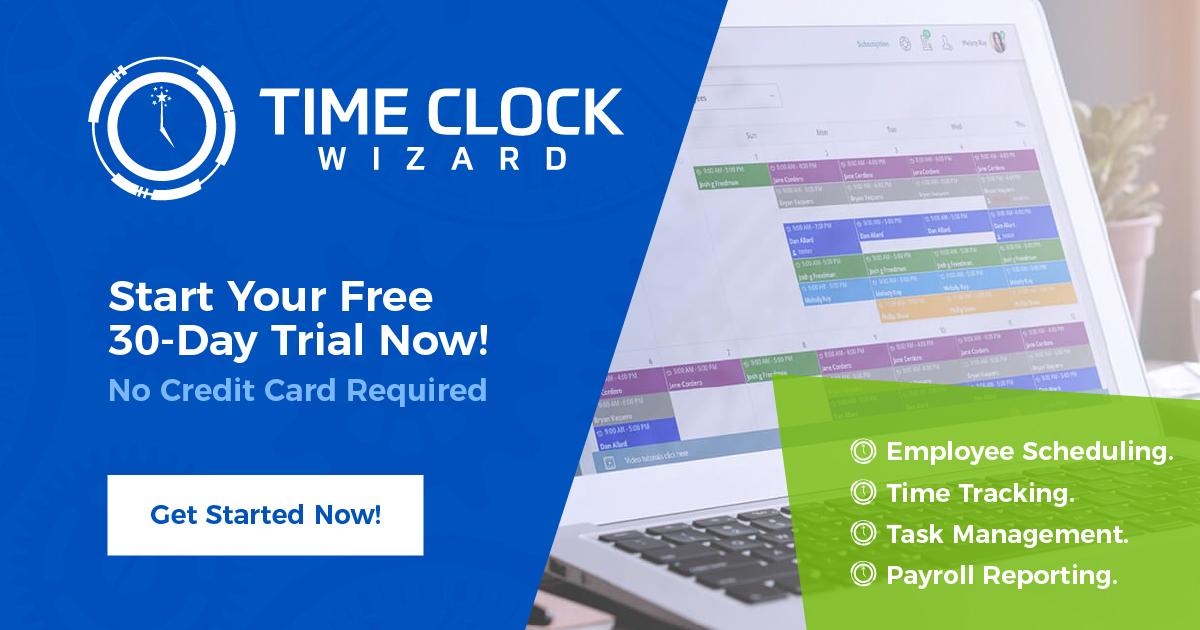 Free Online Time Card Calculator Time Clock Wizard