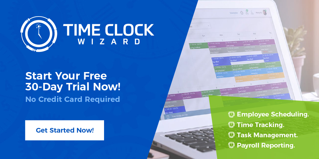 Free Online Time Clock  Employee Scheduling Time Clock Wizard