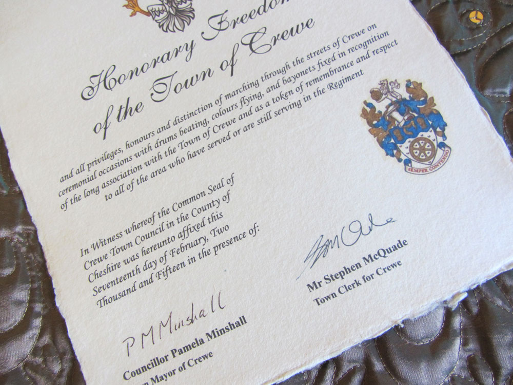 Unique Real Parchment Certificates For Sporting Events