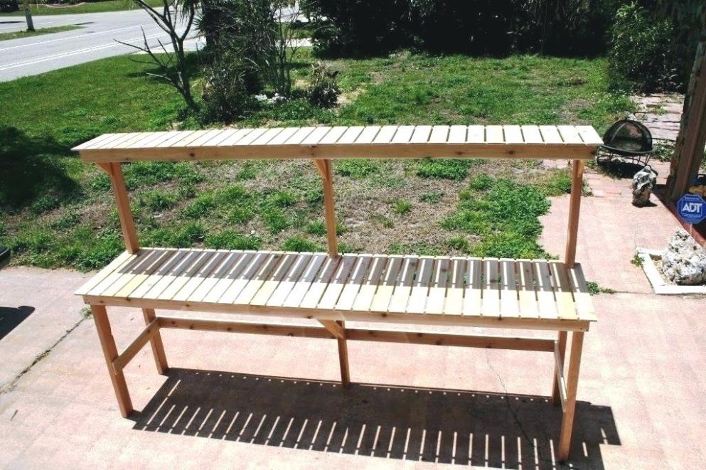 25 Photo Of Outdoor Plant Shelf