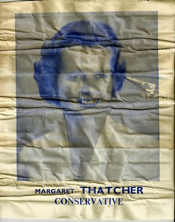 The Cover Of A 1959 General Election Campaign Leaflet For Margaret Thatcher