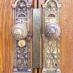 Salt Lake Temple doorknobs