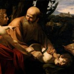 Caravaggio's version of Abraham's sacrifice