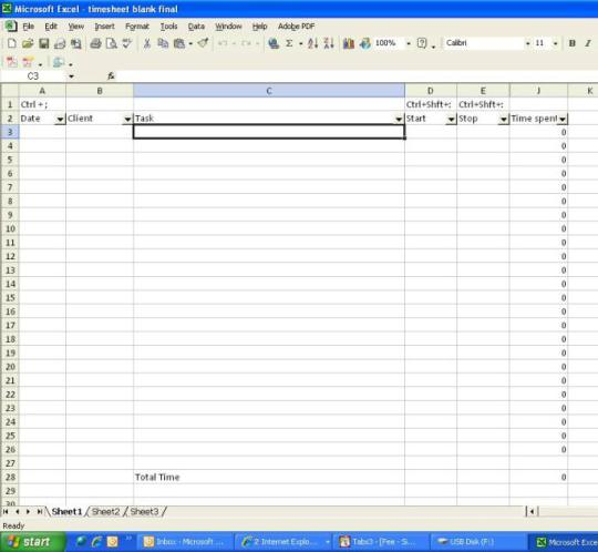 10 Reasons Why Excel Spreadsheets Make Lousy Timesheets - HR