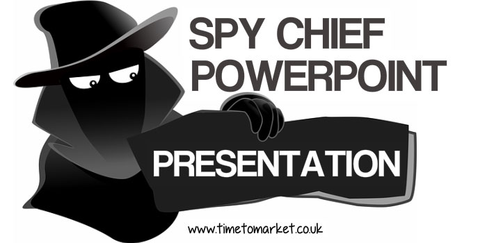 Spy Chief PowerPoint presentation Is No Joke For Cartoonist