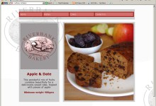 Bank Bakery, Website Design, Norfolk and Kings Lynn