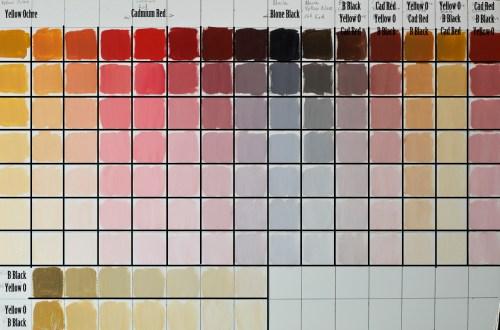 Medium Of Red Color Palette