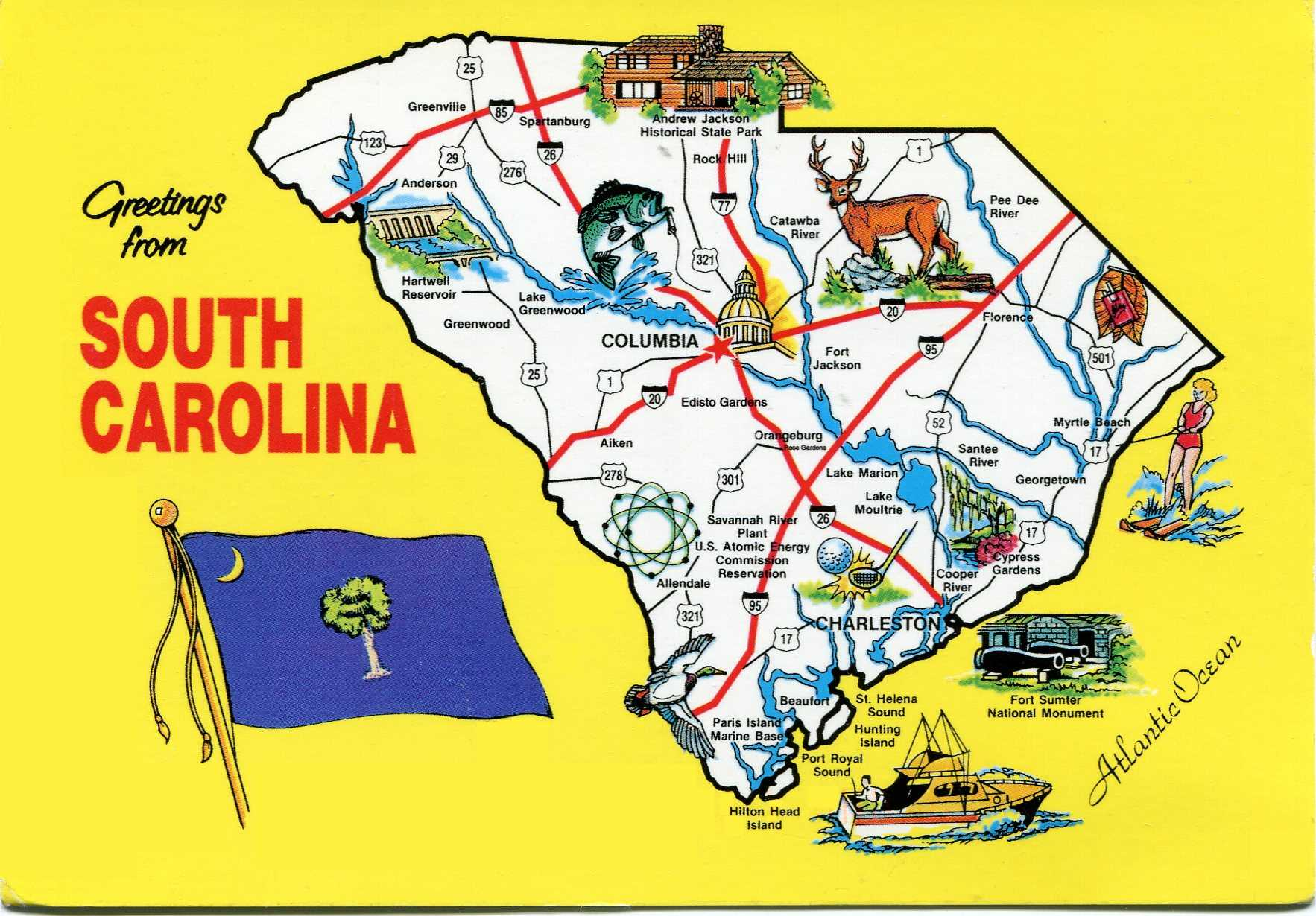 North charleston south carolina city information epodunk - North Charleston South Carolina City Information Epodunk An Old Sc Greetings Postcard Download