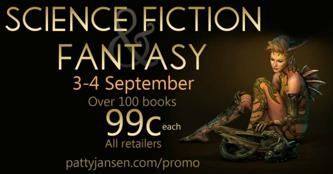 99 cents SFF promo image September 3-4 2