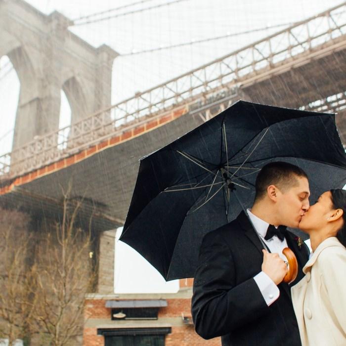 Brooklyn wedding photography Sarah & Evan's Water's Edge wedding
