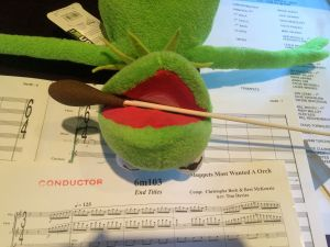 Kermit and score