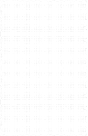 Graph Paper Template, 11x17 Tabloid Printable PDF - sample printable graph paper