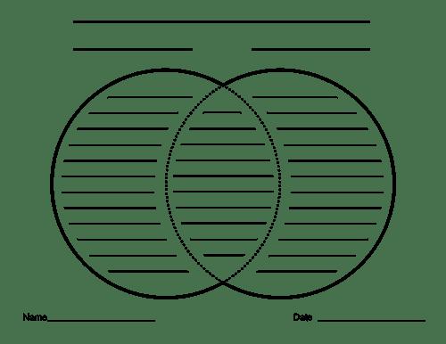 venn diagram with lines printable