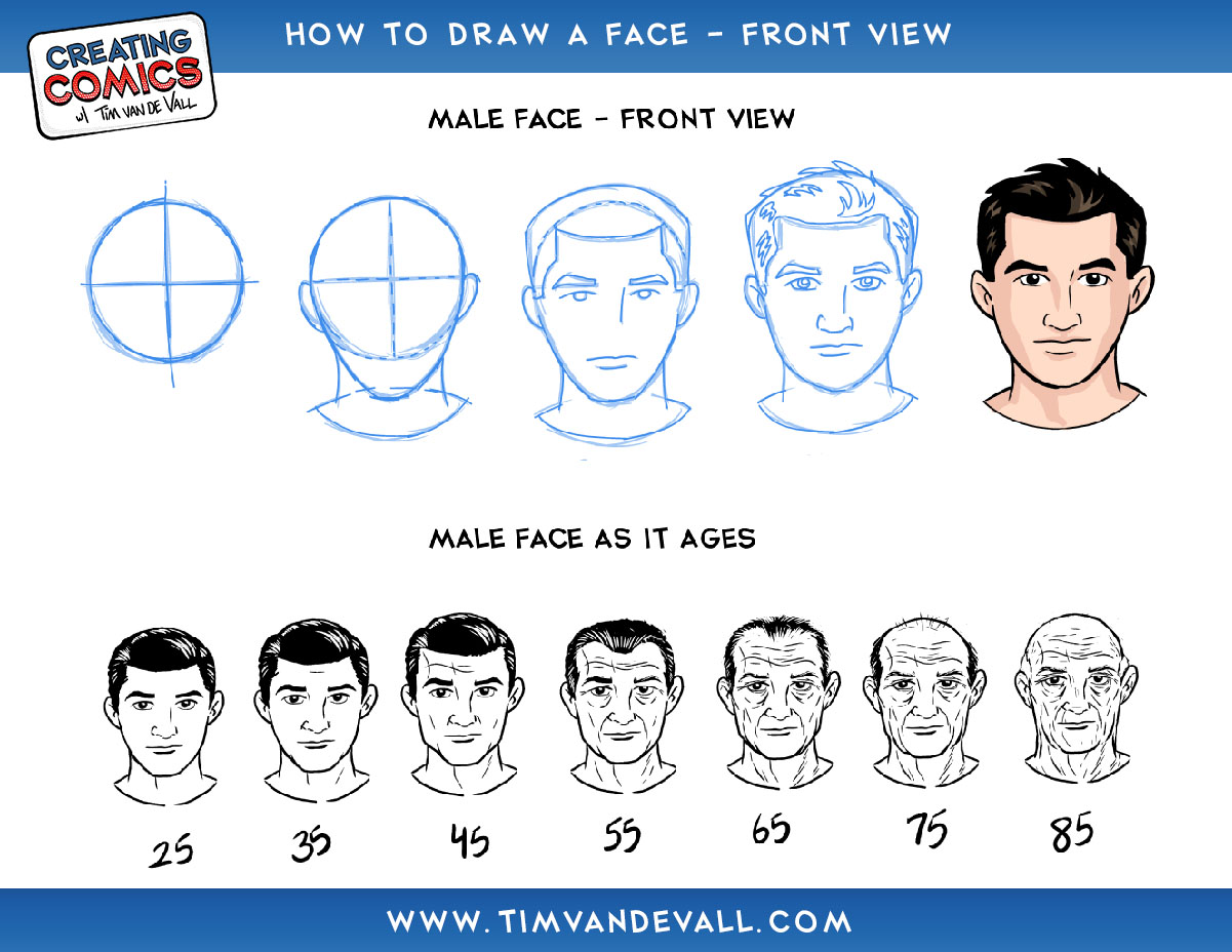 Step By Step Face Drawing Techniques Images Pictures Becuo Download Step By  Step How To Draw