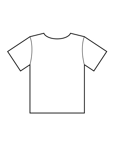 t shirt print out template - Klisethegreaterchurch - t shirt template
