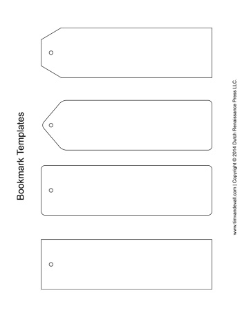 Bookmark Template Printable Templates wwwpicturesso