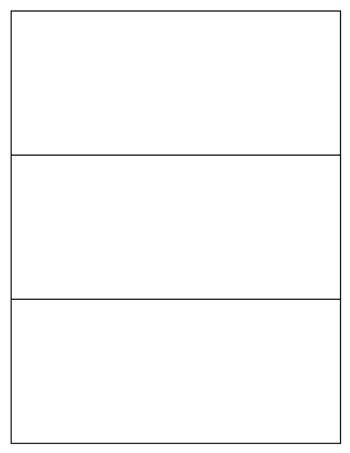 Blank Brochure Template - Tim\u0027s Printables