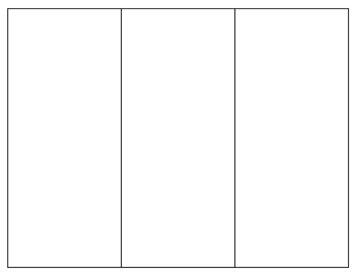 simple pamphlet template