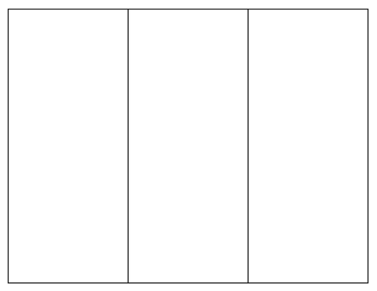 brochure template in word