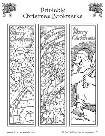Language Arts Archives - Tim\u0027s Printables - christmas bookmark templates