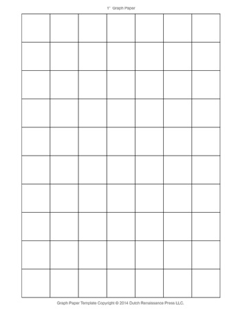 Graph Paper - 1 Inch - Tim\u0027s Printables - 1 inch graph paper printable
