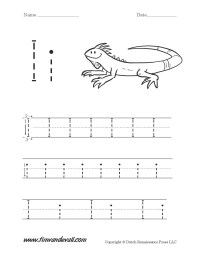 Letter I Worksheets | Preschool Alphabet Printables
