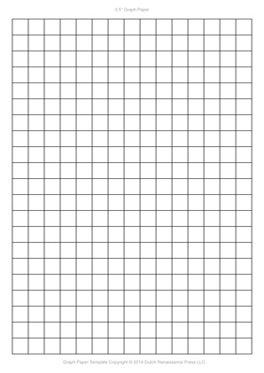 A4 Graph Paper Template PDF, 827x1169 in, 210×297 mm - grid paper template