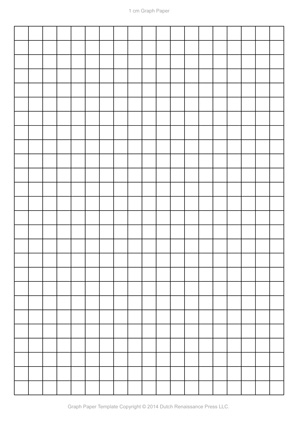 A4 Graph Paper Template PDF, 827x1169 in, 210×297 mm - printable grid paper template