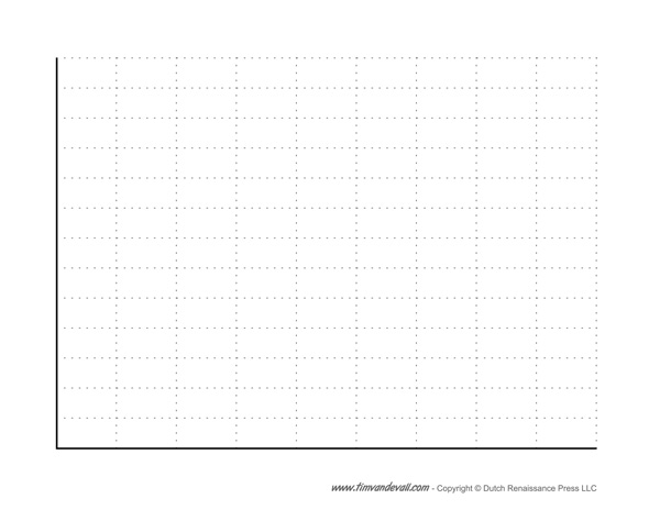Blank Bar Graph Template - Free Printable PDF