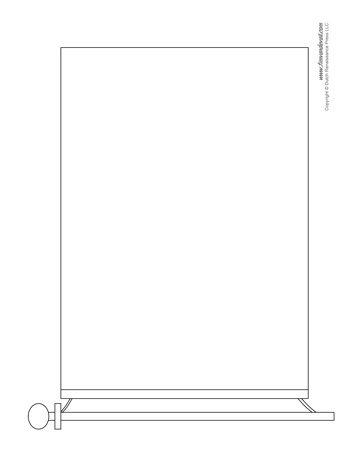 Blank Flag Template Printable Make Your Own Flag - blank brochure templates for kids