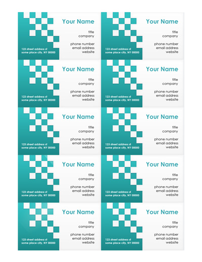 Free Business Card Templates Make Your Own Business Cards - MS Word - free card templates for word