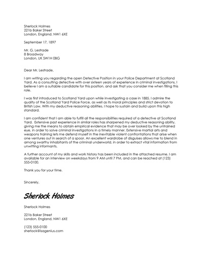 Free Cover Letter Template and Resume Cover Letter Examples - resume cover letter examples