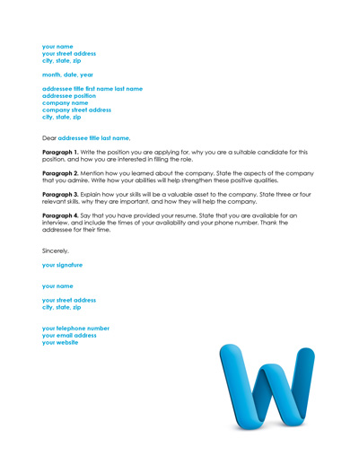 Free Cover Letter Template and Resume Cover Letter Examples - resume cover leter