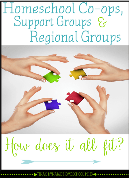 Homeschool Co-ops, Support Groups and Regional Groups How Does It All Fit @Tina's Dynamic Homeschool Plus