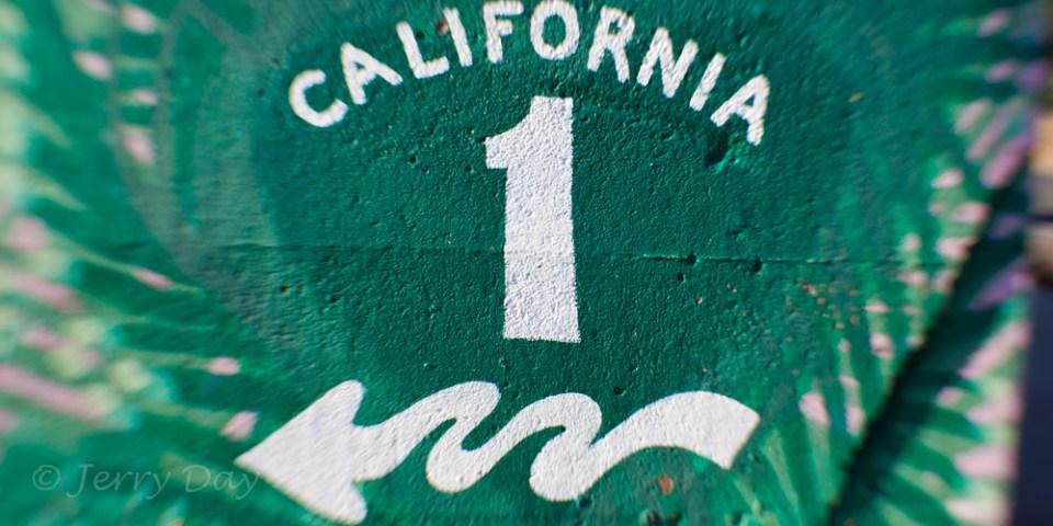 California Highway 1 Mural