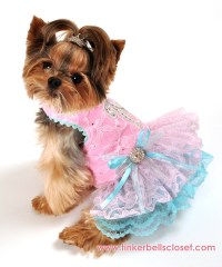 Designer Custom Made Dog Clothing - Tinkerbell's Closet ...