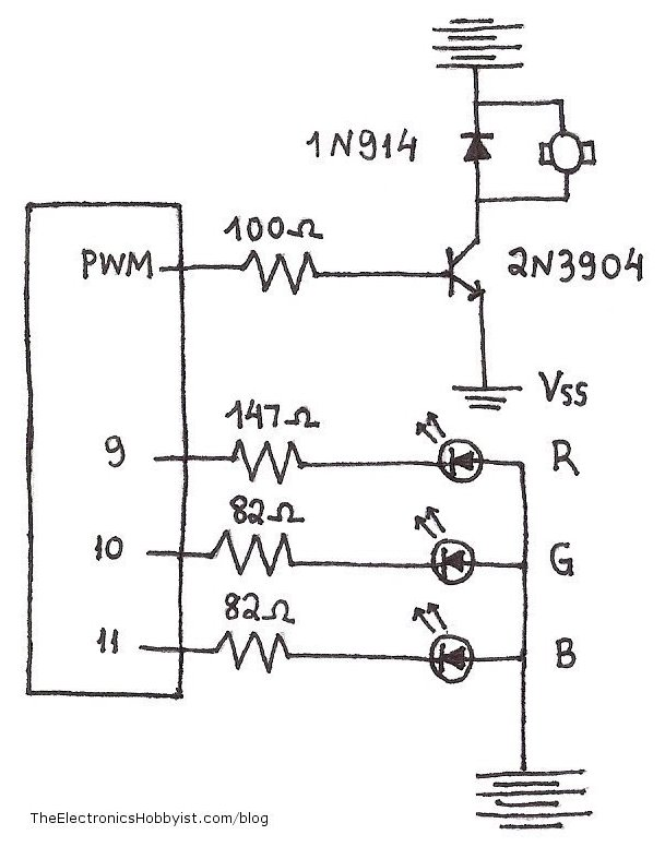 common circuit diagram light