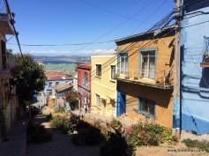 mit Abstand die schönste Straße in Valparaiso