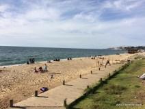 Der Strand von Vina del Mar