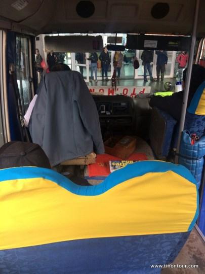 Da waren sie endlich - die kleinen Busse Südamerikas