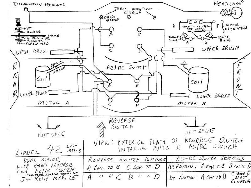 Lionel Wiring Diagram Wiring Diagram