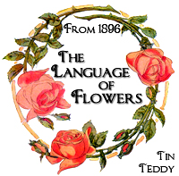 Tin Teddy Language of Flowers Series