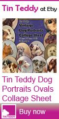 Tin Teddy Dog Portraits