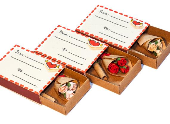 Matchbox Rose Bouquet by shop3xu