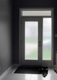 Glass Door Window Film Home Installation