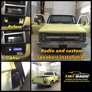 Car Stereo Installation at Tint Magic Window Tinting